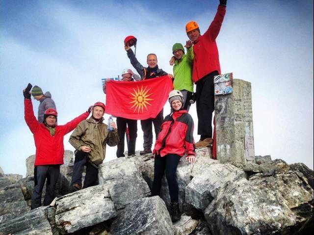 Νέα πρόκληση: Στον Όλυμπο με τον Ήλιο της Βεργίνας ο αντιπρόεδρος της βουλής των Σκοπίων