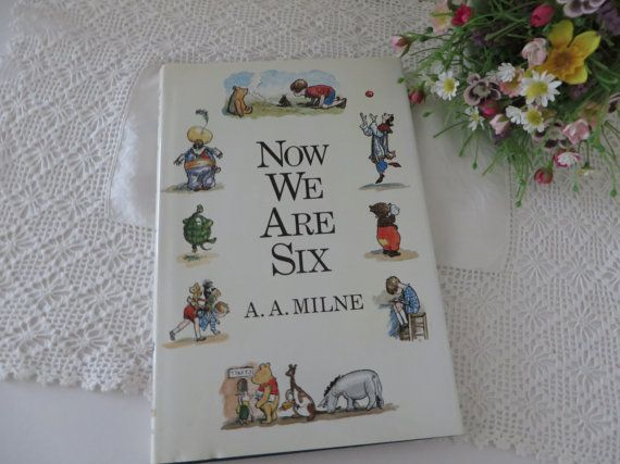 Now we are six. Vintage 1989 book by AA by MaddyVintageHostess