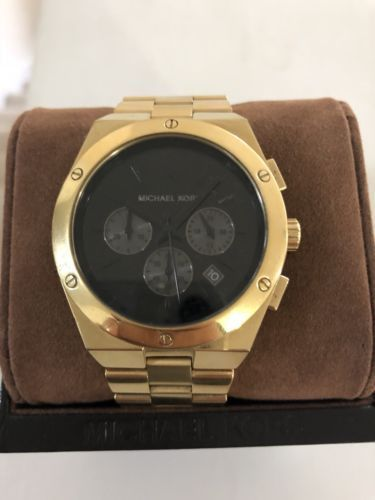 b8b09226a877 michael kors watch men gold
