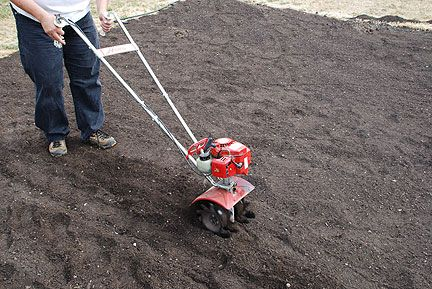 Start A Vegetable Garden. Very detailed instructions, with pictures, how to set up a garden bed.