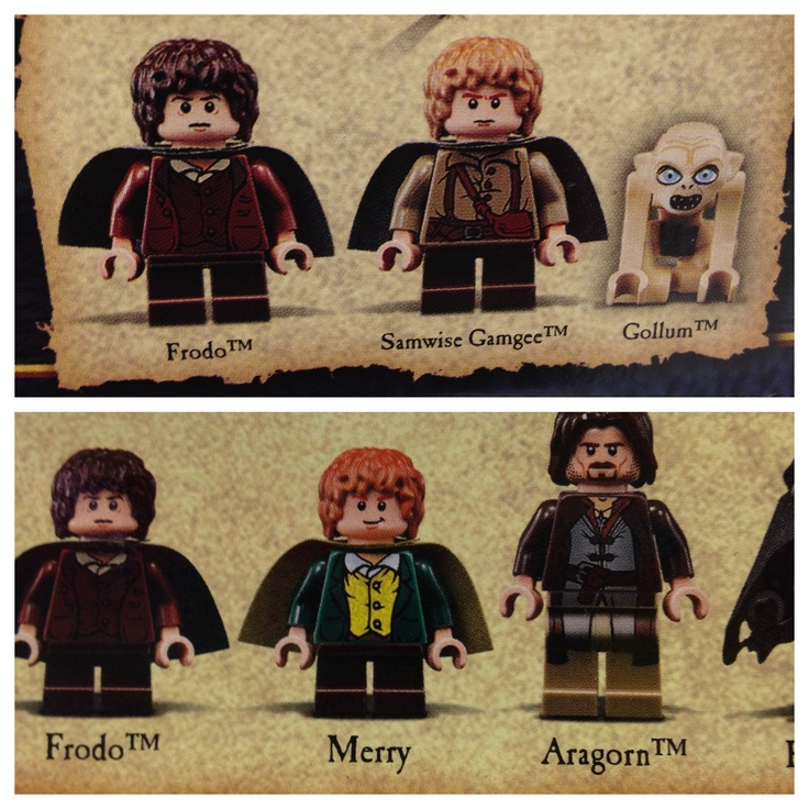 Lord of the Rings Legos. Love. Need. Want. Must have.