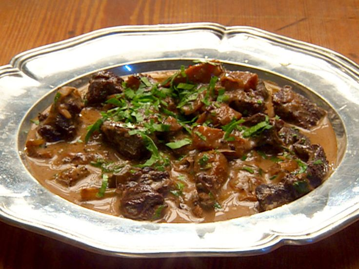 Mutton Stew recipe from Robert Irvine via Food Network