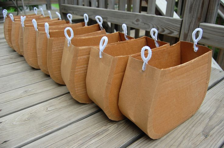 cardboard purses to decorate for activity/party favor
