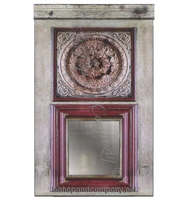 and an antique frame to safely secure and protect an ornate, vintage ...