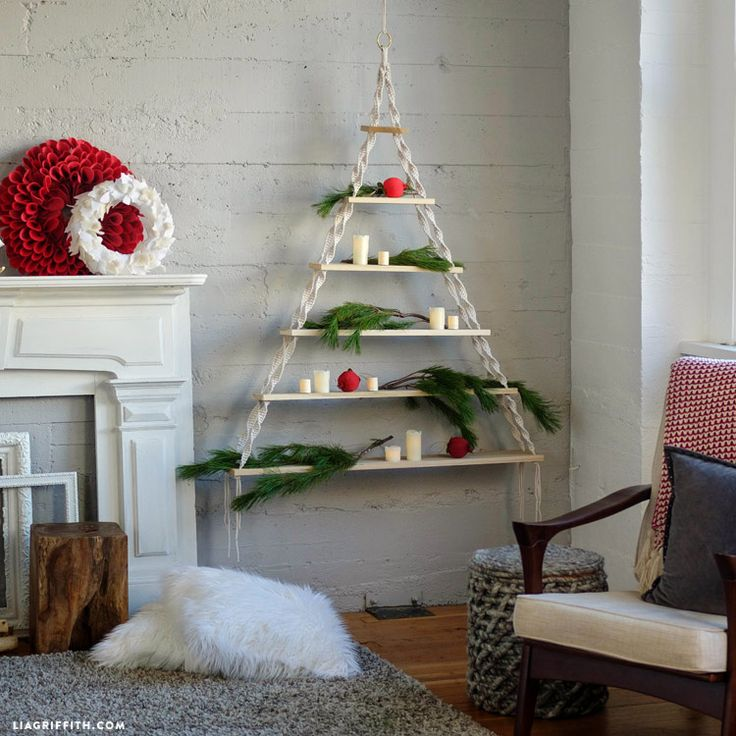 #DIYChristmasTree with www.LiaGriffith.com @orchardsupply: