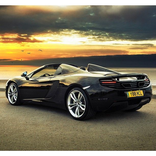 What's better than relaxing in the #McLaren 12C Spider while watching this awesome view