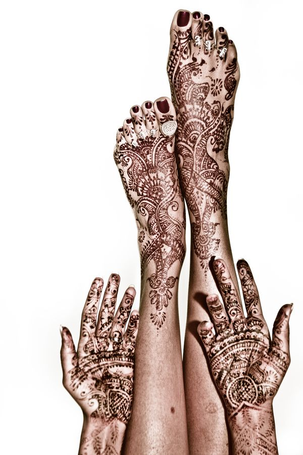 Wedding Mehndi Henna by Eyebeam Photography, via 500px