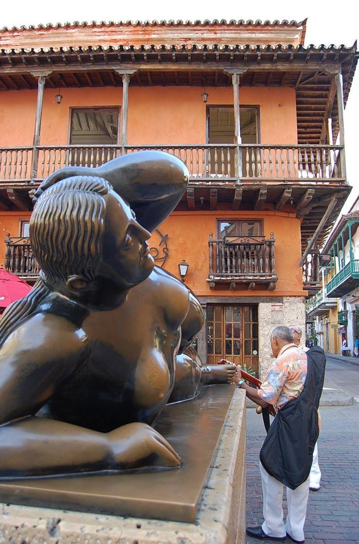 Las gordas de Botero en Medellin