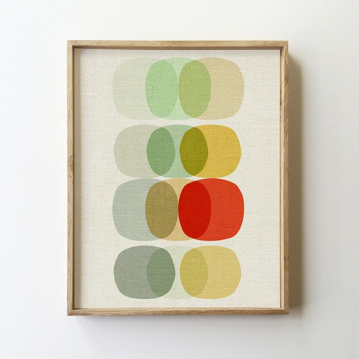 Keep It Simple Circle -- I need this print framed and in my life. #midmod #midcentury #midcenturymodern