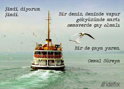 Cemal Süreya (1931 Tunceli - 9 Ocak 1990 İstanbul)