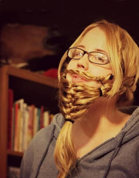 How to get an instant beard…