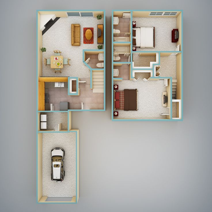 Floorplan 3d Home Design Suite 8 0: 38 Best Architecture: Colored Floor Plan Images On