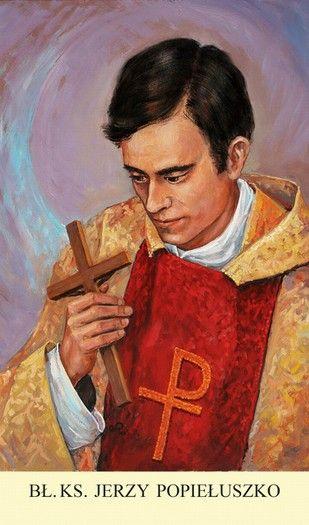 Obrazek - bł. Jerzy Popiełuszko 0995 - WITKM.pl - Wydawnictwo Instytut Teologiczny Księży Misjonarzy