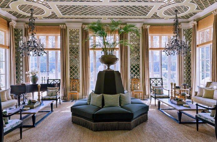 eremas studio: Индийский дом по проекту декоратора Жан-Луи Денио