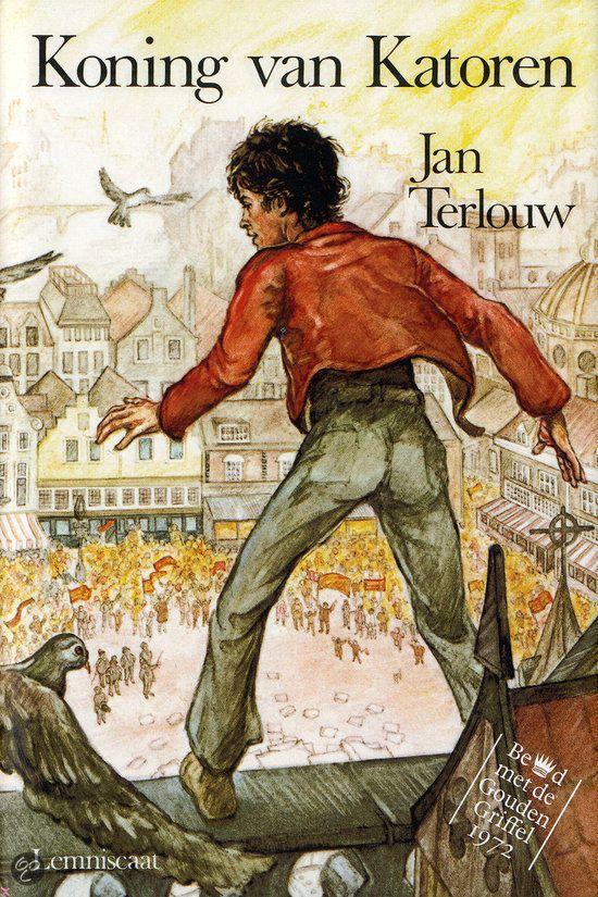 Jan Terlouw - Koning van Katoren || Lemniscaat 1990, 168 pagina's || Gouden Griffel 1972 || De oude koning van Katoren is overleden en er is geen troonopvolger. De 17-jarige Stach moet zeven moeilijke opdrachten volbrengen voordat hij koning kan worden. || http://www.bol.com/nl/p/koning-van-katoren/666820984/