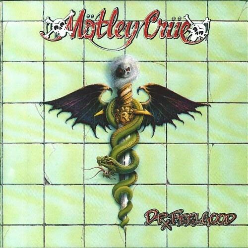 ☮ American Hippie Psychedelic Rock Music Album Cover Art ~ MOTLEY CRUE, Dr Feelgood