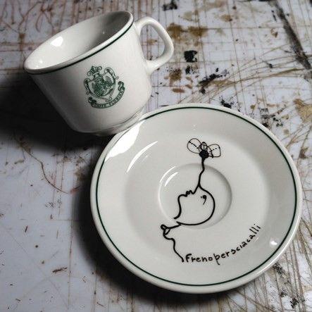 """Tazza da Caffè """"n.n non noti"""" di Frenopersciacalli Caffè #Florian a #Venezia San Marco - Florian #cafè in #Venice Saint Mark #travel #travelinspiration  #italy #italia #veneto #instaitalia #italianalluretravel #lonelyplanetitalia #lonelyplanet"""