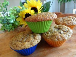 Muffins aux bananes et #chocolat #recettesduqc #banane #muffin