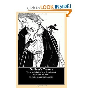 Amazon.com: Gullivers Travels (Illustrated by Jean de Bosschere): Voyages to Lilliput and Brobdingnab (9781484899250): Jonathan Swift, Jean de Bosschere: Books