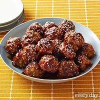 Sweet-Chili Pork Meatballs