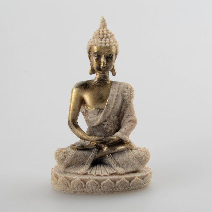 BUDDHA DHYANA MUDRA:MEDITACION 107 X 68 X 38 MM - Mundo Mágico 7