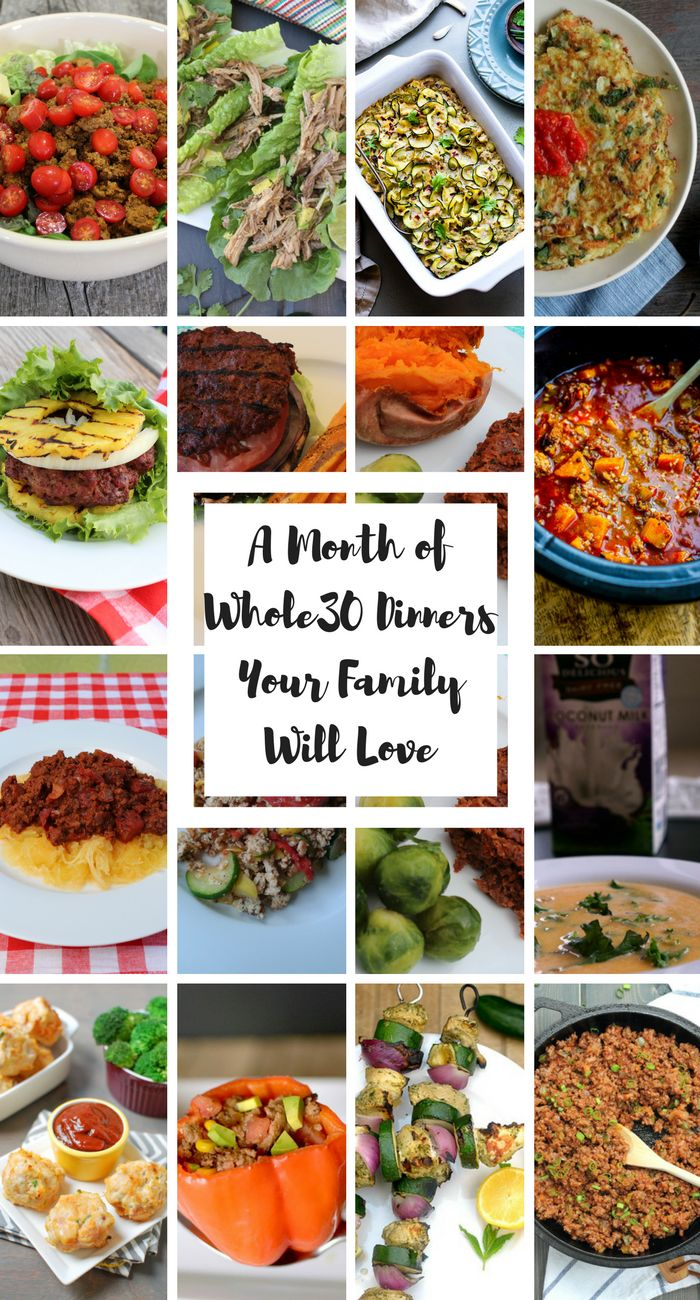 35 best the wild diet recipes images on pinterest kitchens paleo a entire month of paleo family friendly dinner recipes 30 and paleo dinners so you dont have to make 2 dinners while youre doing whole forumfinder Image collections