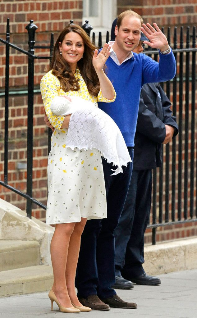 A primeira foto oficial da filha de Kate Middleton e príncipe William