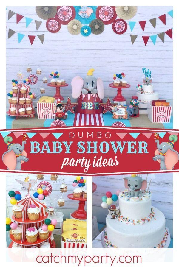 Dumbo Baby Shower Dumbo Baby Shower Dumbo Baby Shower Dumbo Birthday Party Pink Baby Shower Cake