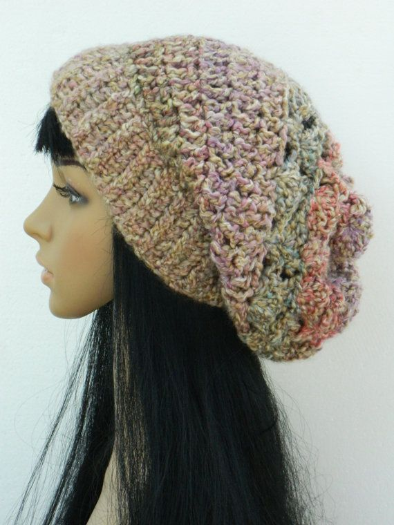 boho hats for women | Winter Hat Slouchy Beanie Boho Fashion Stylish Tam For Women Teens In ...