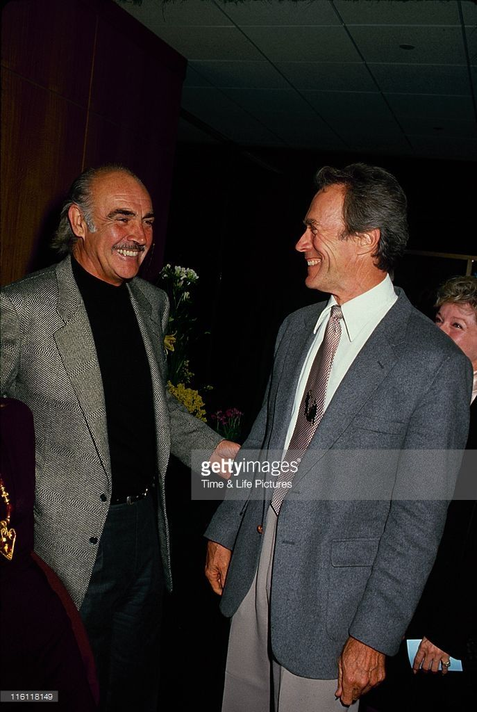 STATES - Sean Connery and Clint Eastwood