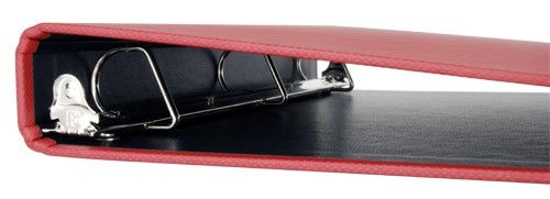 """11x17 Binder 1"""" Angle-D Turned Edge (Red)"""