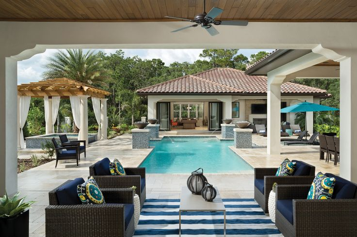 Arthur rutenberg homes pool casita at the modena model for Casita plans for backyard