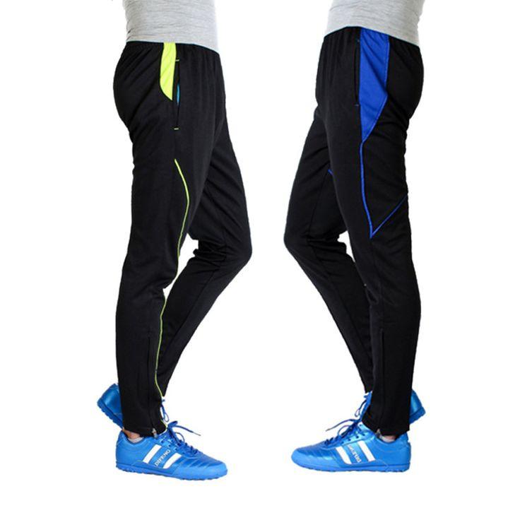Hot Soccer Training Pants Kids 2016 17 Survetement Football Skiny Leg Pants Boys Jogging Running Pants Men's Trousers Sweatpants