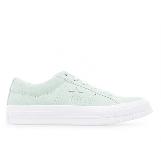 Converse Womens One Star Suede | Mint Foam/White | Platypus Shoes