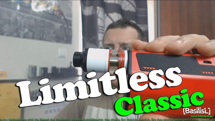 Limitless RDTA Classic Edition by iJoy - BasilisL (Greek ecig Reviews)
