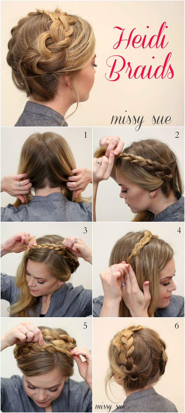 13 Cool Ways to Wear a Heidi Braid - cosmopolitan.com