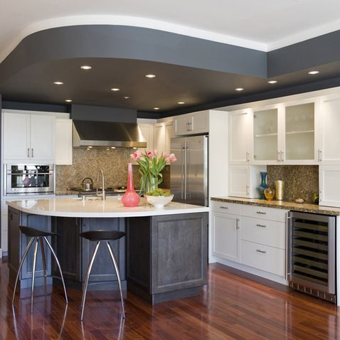 9 ceiling kitchen cabinets ceiling bulkhead design ideas closes the gap between the 10377