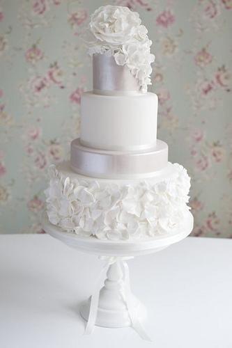 Volants Gâteau de mariage