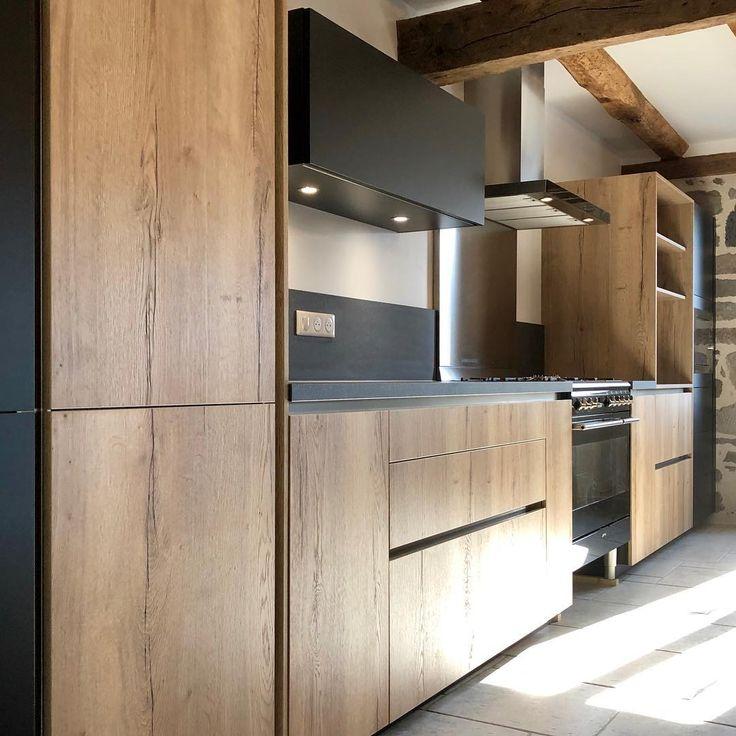 Mobalpa aurillac on instagram une tr s belle ambiance pour cette cuisine install e cette - Tres belle cuisine equipee ...
