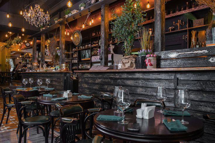 Ресторан «Оливка» г. Тольятти - Лучший интерьер ресторана, кафе или бара…