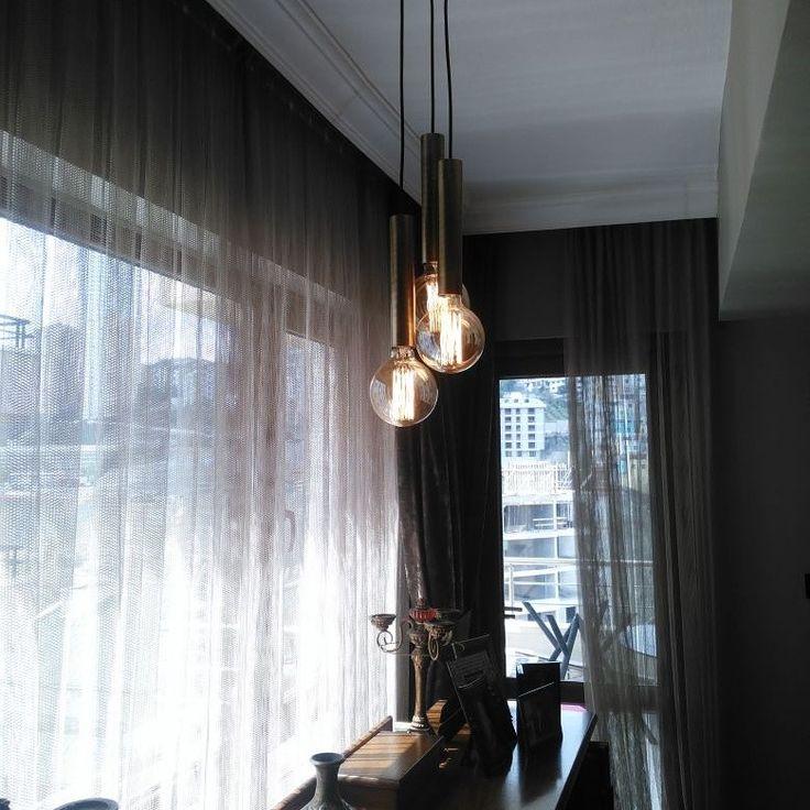 Hip Metal pendant lighting    Metal body colors: copper, gold, chrome, Black  (Ral code)  WhatsApp: +90 530 310 6151    #mimari #mimar #mimarlik #icmimari #icmimar #mobilya #architect #architecture #interior #interiordesign #interiorstyle #italy #avize #livingroom #homedesign