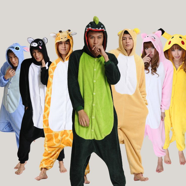 Unisex KIGURUMI Animal Costume