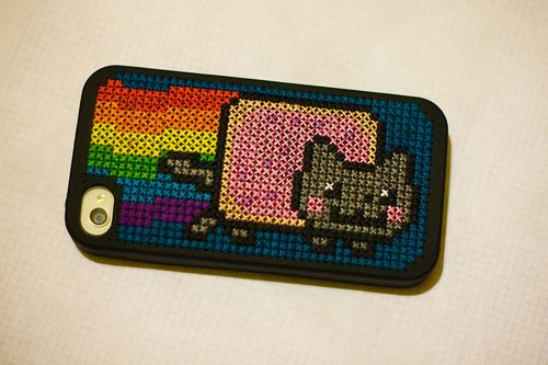 nyan iphone case