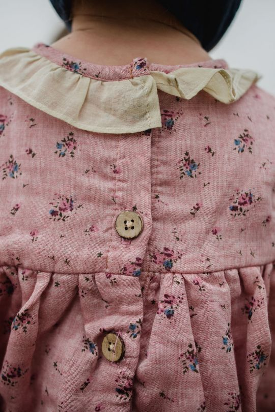 Such pretty details and fabrics
