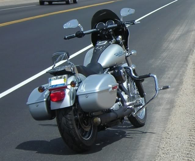 Anyone With Hard Color Matched Saddlebags Harley