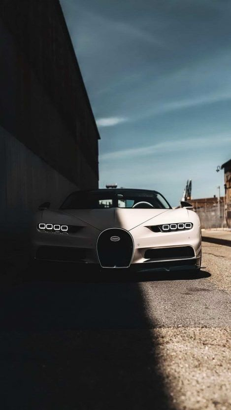 Bugatti Chiron White Iphone Wallpaper Iphone Wallpapers