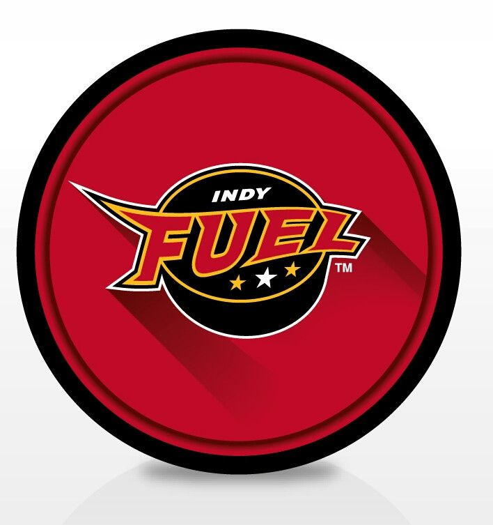 ECHL Indy Fuel Puck