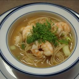 Nautico's Indonesian Shrimp Soup with Noodles on BigOven: A light, gingery soup.