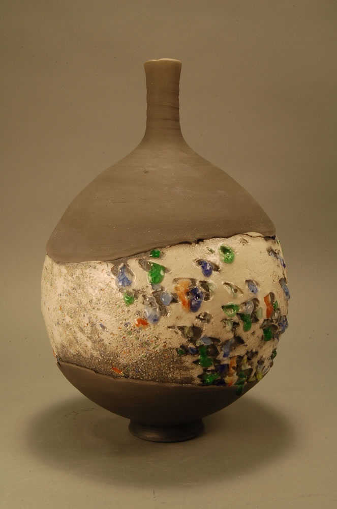 Raku Vessel By Steven Branfman Ceramics Ceramic Pottery