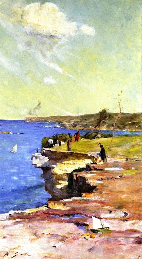 The Blue Pacific - Arthur Streeton